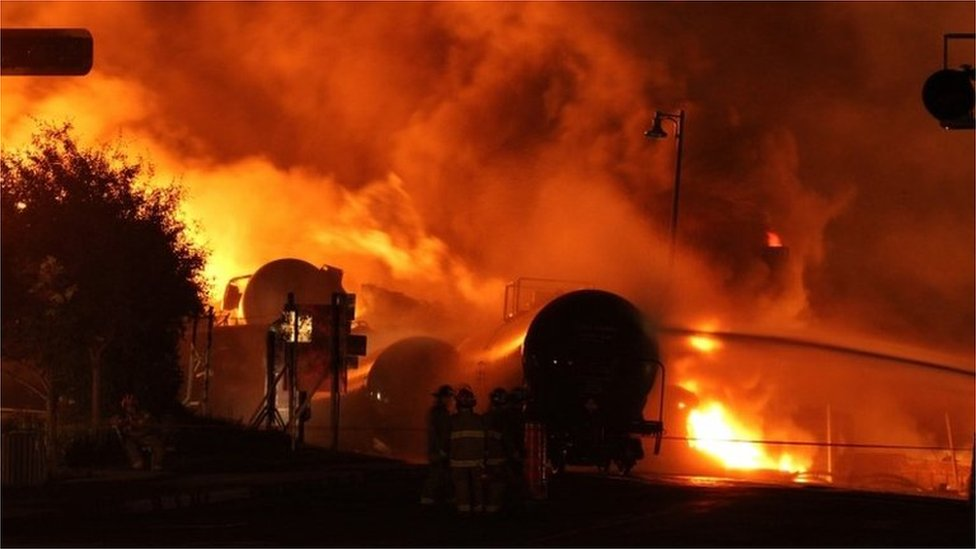Lac-Megantic trial: Workers cleared over Canada rail disaster