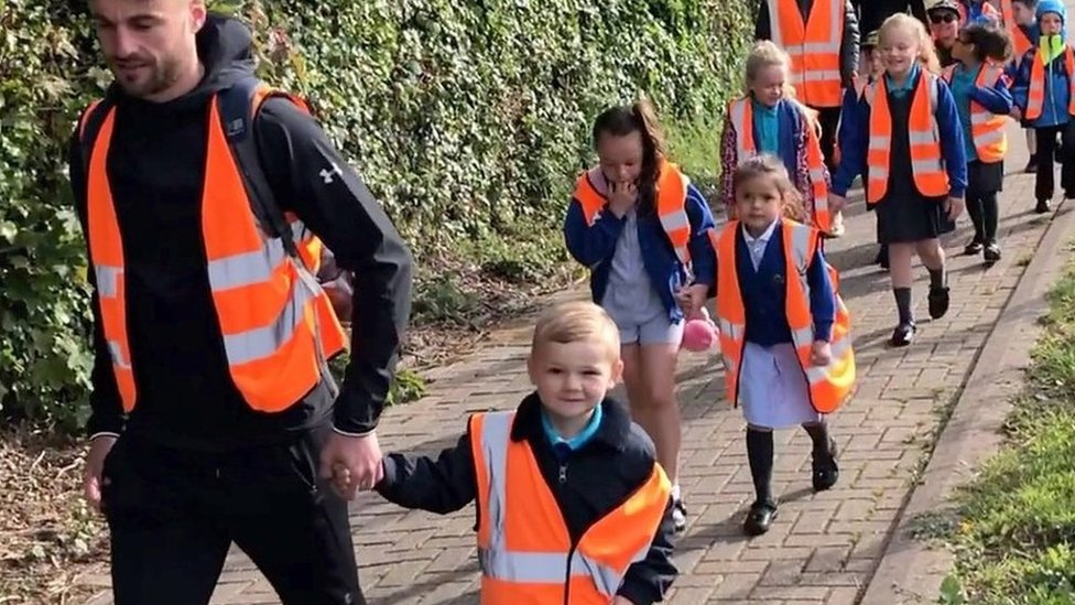 School run: Cardiff school leads the way for sustainable travel