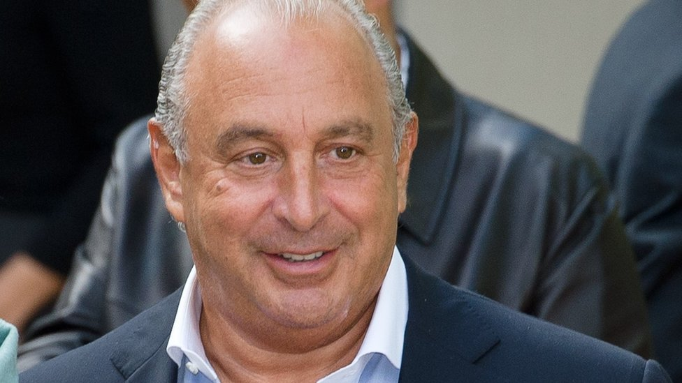 Sir Philip Green 'grabbed women's breasts' Lords told