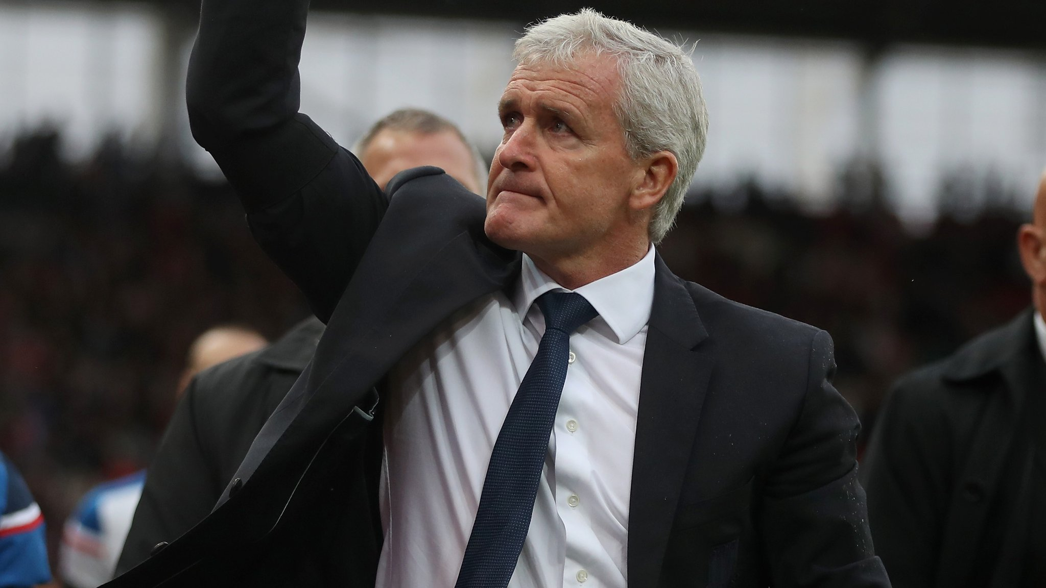 Stoke fed up of criticism - Hughes