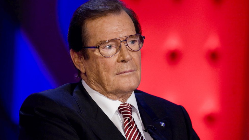 Actor Sir Roger Moore dies aged 89
