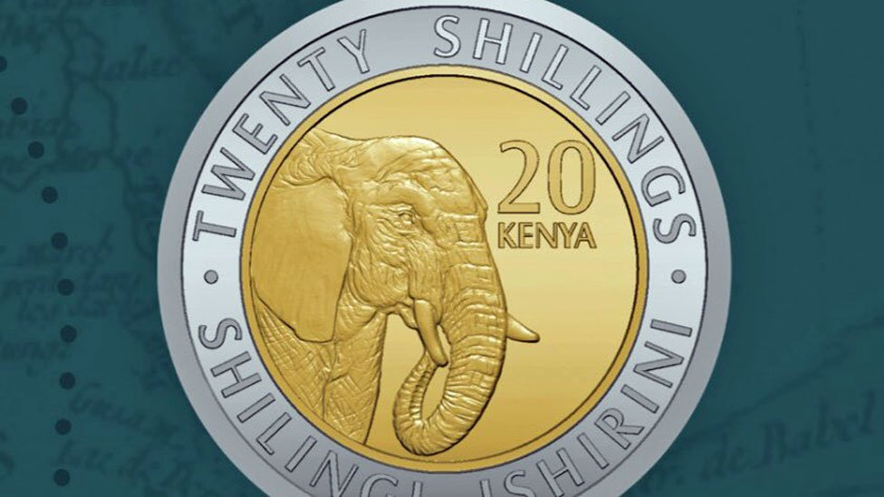 Kenya coins replace leaders with animals