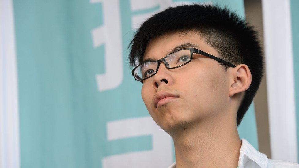 Joshua Wong receives second jail term over 2014 pr