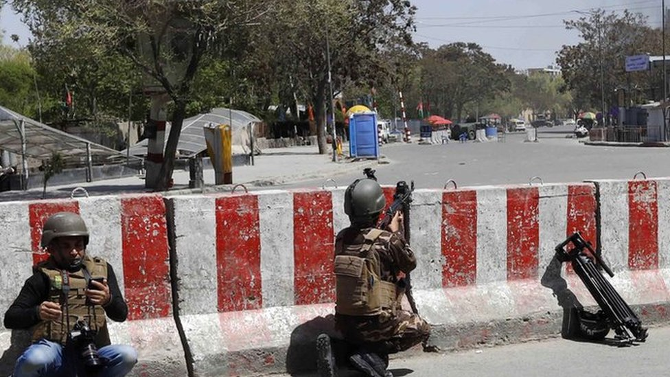 Kabul attack: Explosion and gunfire near ministry building