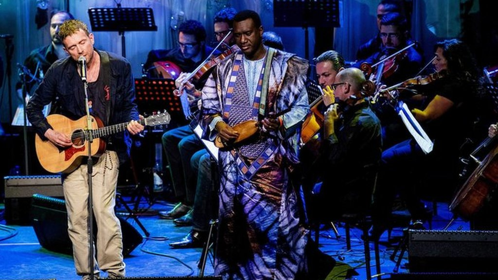 BBC News - A Syrian Symphony: Behind the scenes of an emotional musical reunion