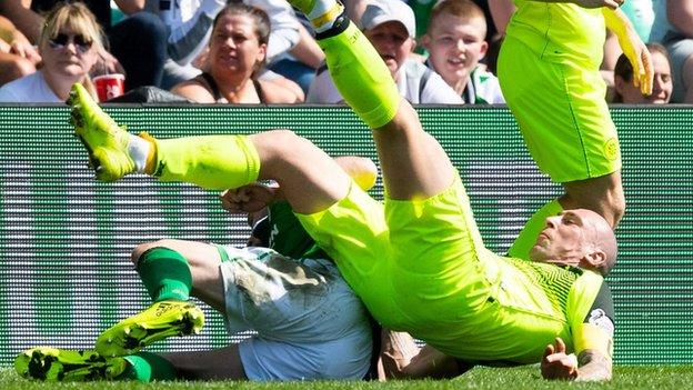 Highlights: Hibernian 0-0 Celtic