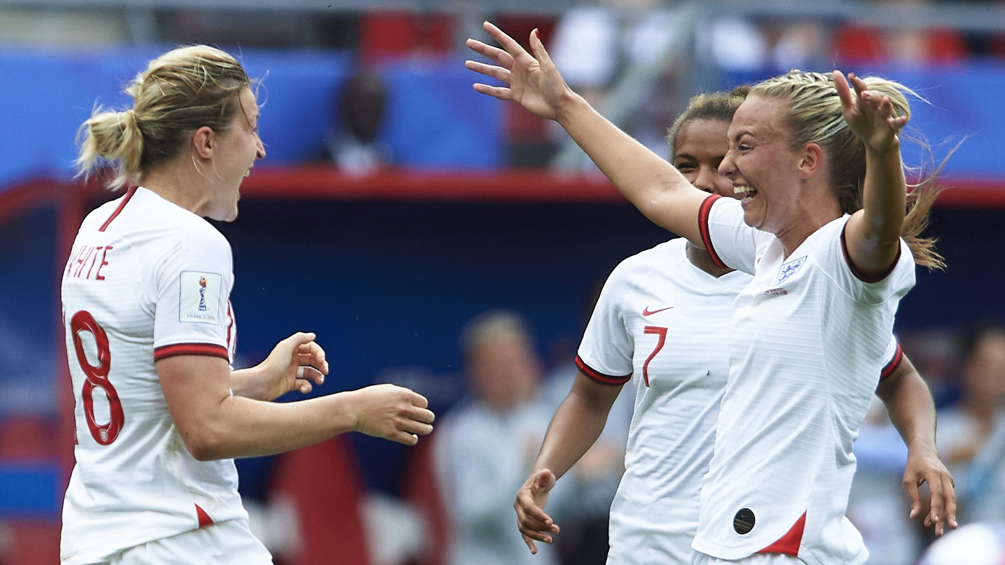 Women's World Cup: Record-breaking peak of 6.9m watch England beat Cameroon