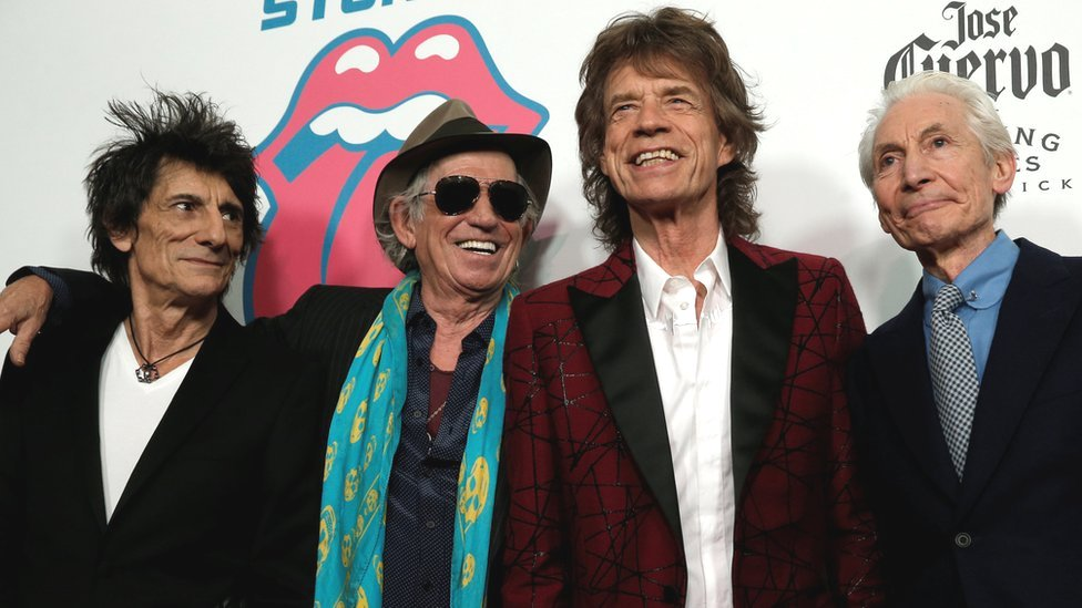 Rolling Stones top UK album chart with Blue & Lonesome