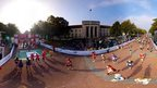 360° photo from the 2015 Cardiff Half Marathon