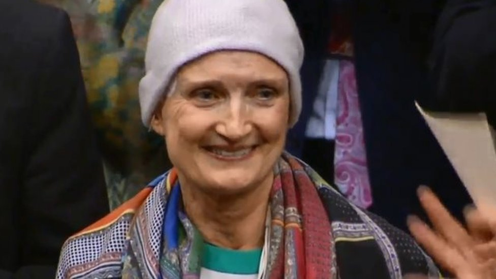 Ex-MP Tessa Jowell first to donate data to medical database