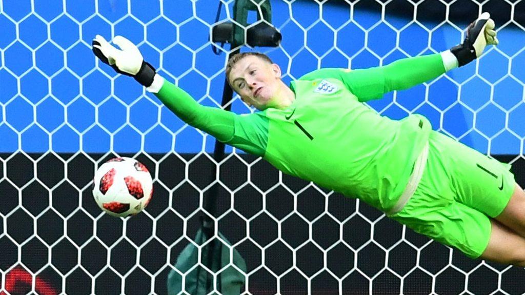 World Cup 2018: Jordan Pickford save denies 'goal of the tournament'