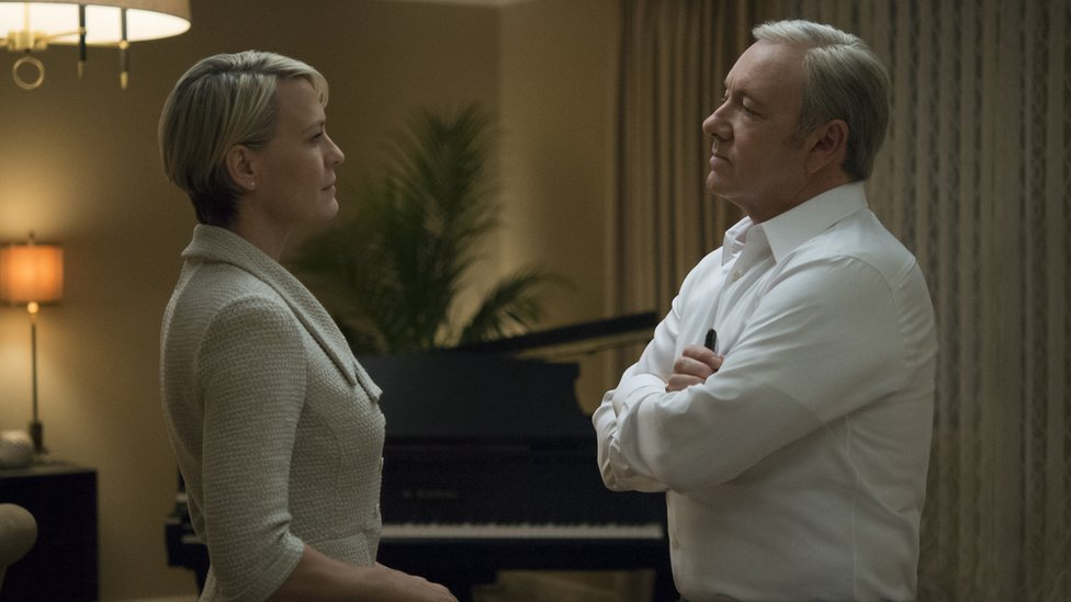Robin Wright y Kevin Spacey (Foto: Netflix)