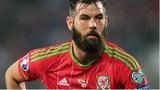 Wales midfielder Joe Ledley