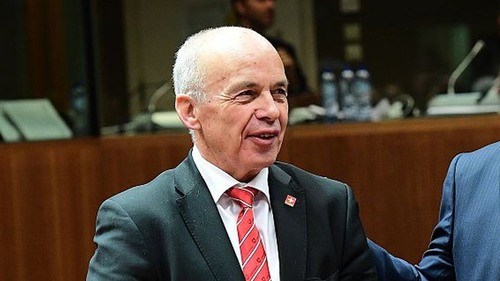 وزير المالي السويسري أولي ماورير.