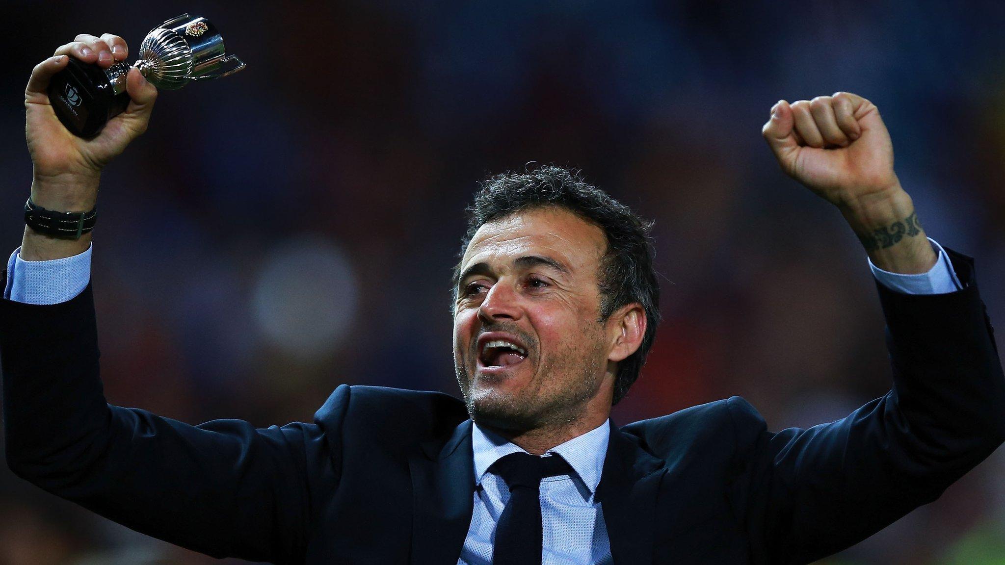 Spanish Cup final: Barcelona v Alaves