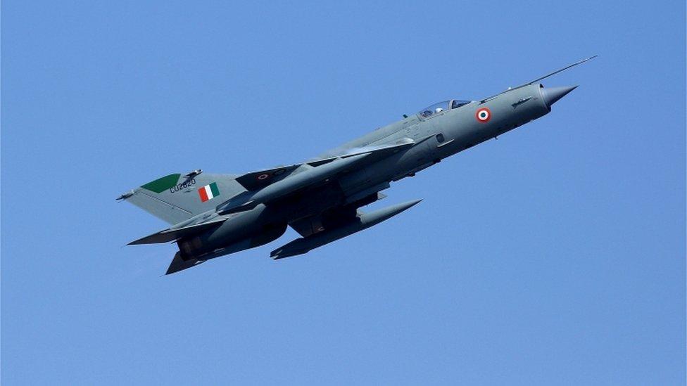 انڈیا کا ایک اور مگ 21 طیارہ تباہ