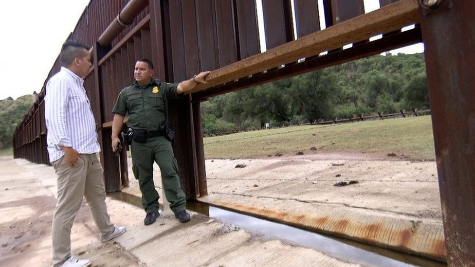Donald Trump's wall: How tech guards the US-Mexico border