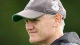 Joe Schmidt at Ireland training on Tuesday