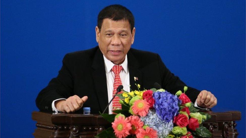 US seeks clarity on Duterte 'separation' comments