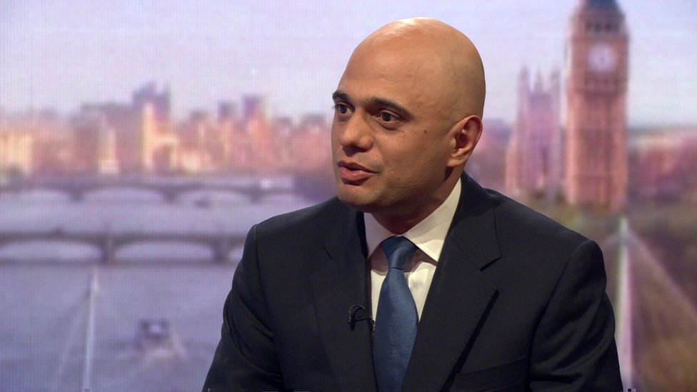 Javid plans 'no panic' business meeting
