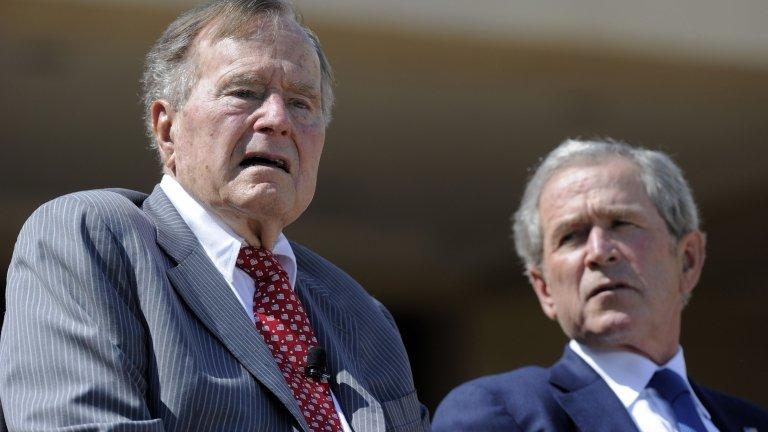 Bush presidents wade into Trump furore over Charlottesville