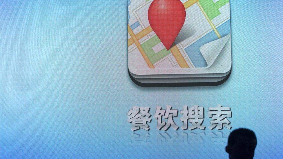 Competidores de Google están tratando de expandir su negocio de mapeo digital en Asia.