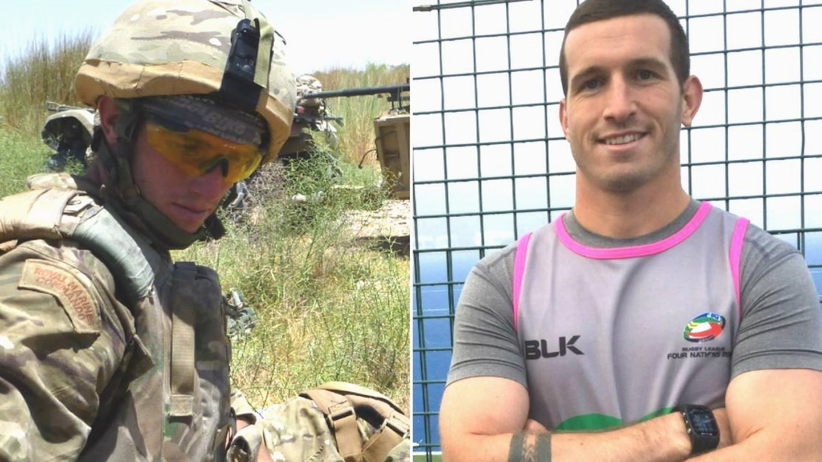 Jack Smith: Four Nations role for ex-Royal Marine shot by a sniper in Afghanistan