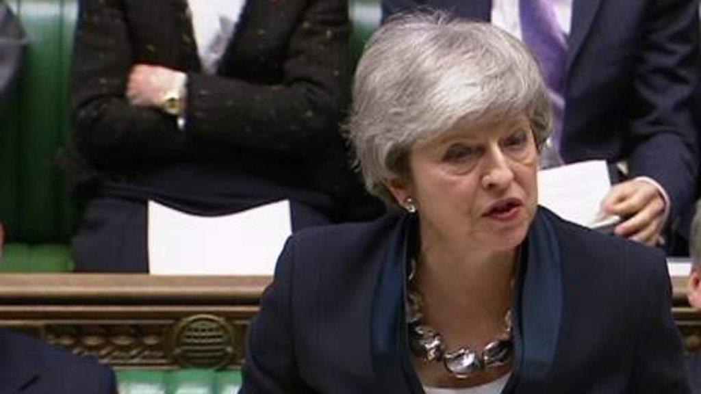 Brexit: May statement on future votes and Article 50 extension