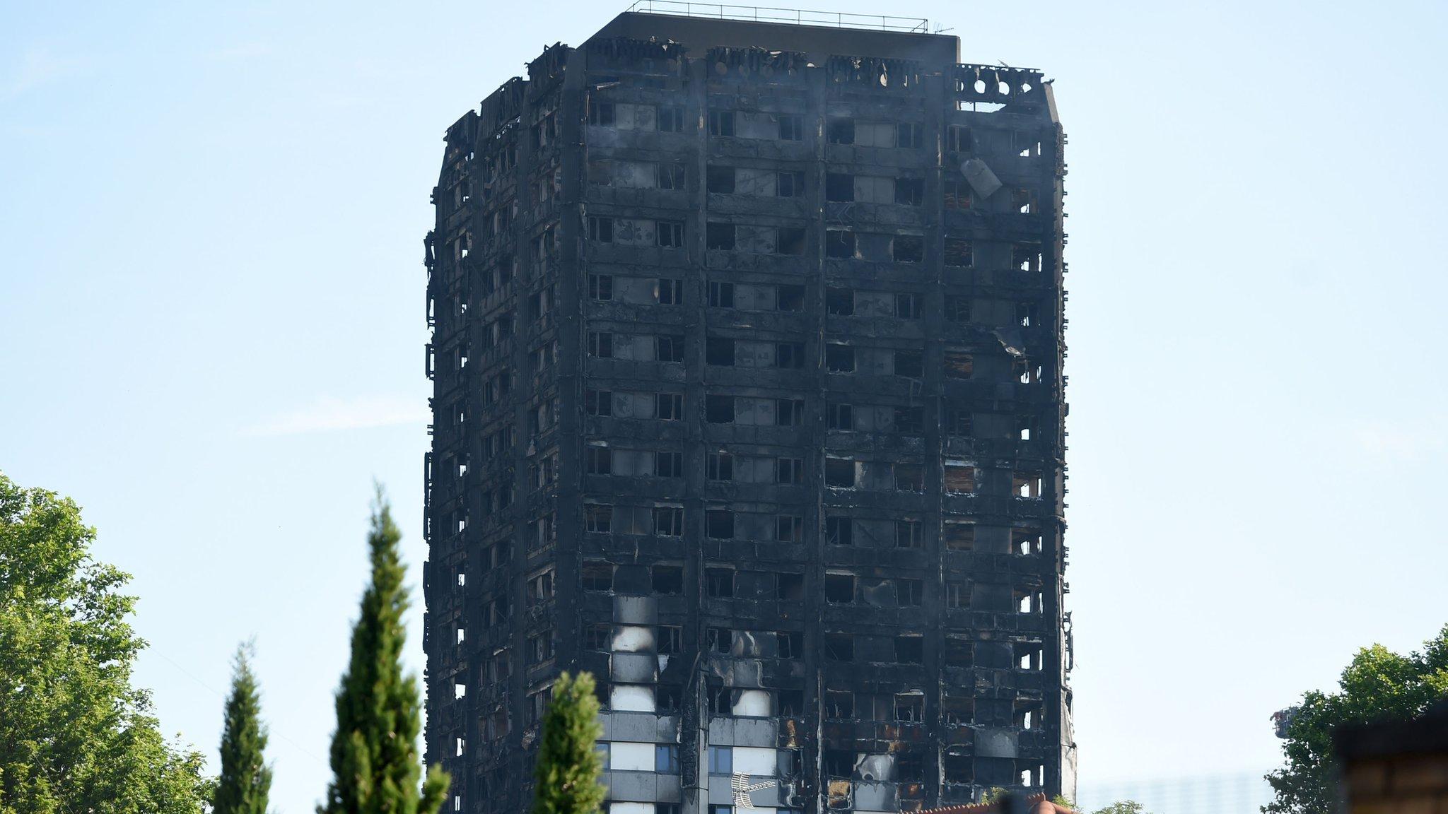 <![CDATA[Grenfell Tower: Sixty blocks 'fail new fire test']]>