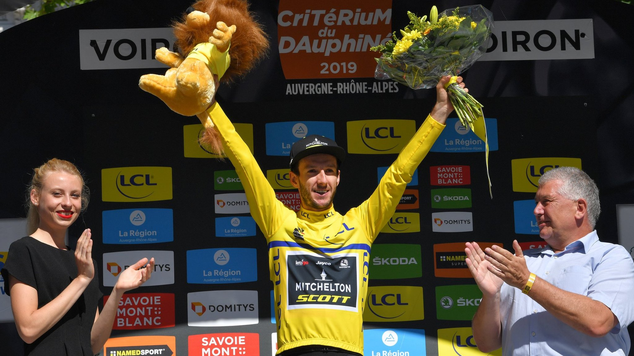Criterium du Dauphine: Britain's Adam Yates retains lead after fifth stage