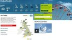 BBC Weather site