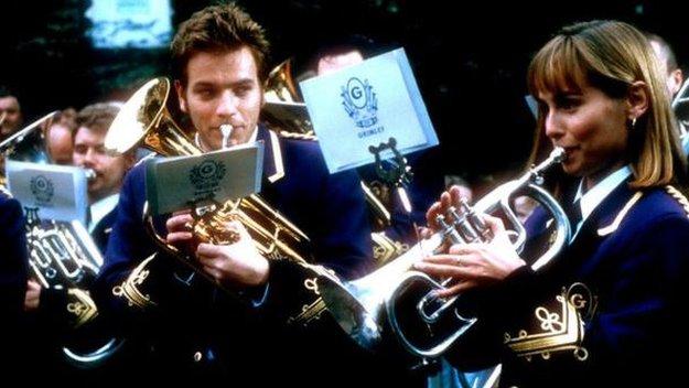 Barnsley Brass Band Play in Hospital Car Park