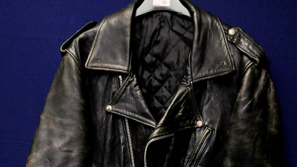 BBC News - Hendrix and Lennon jacket sold at North Yorkshire auction