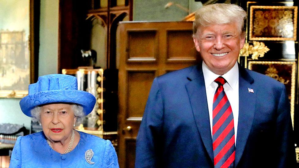 Trump set for UK state visit in June