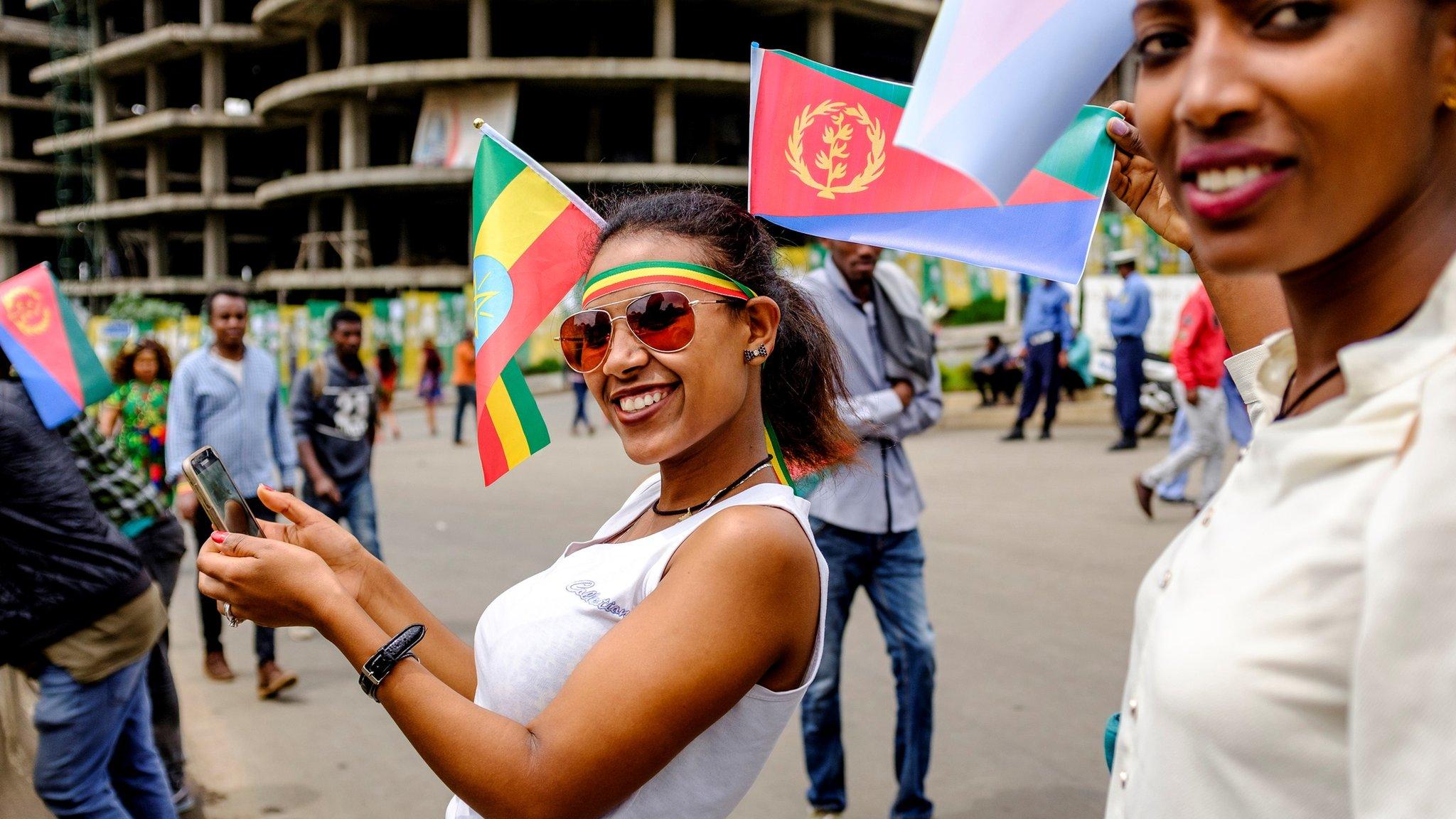 Eritrea's Isaias Afwerki in historic Ethiopia visit