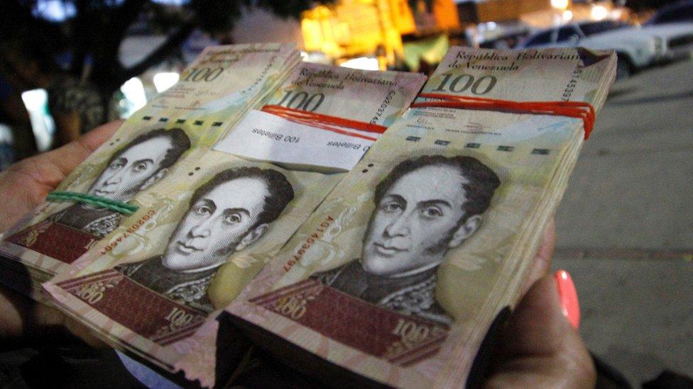 ベネズエラ、最高額紙幣を72時間...