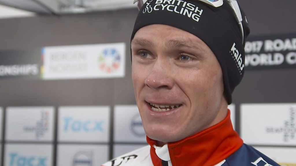 Chris Froome has no regrets after world time-trial bronze