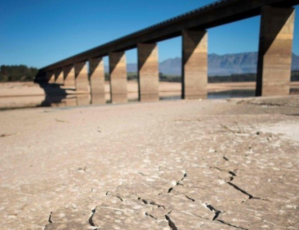 Ciudad del Cabo cada día más cerca de estar sin agua