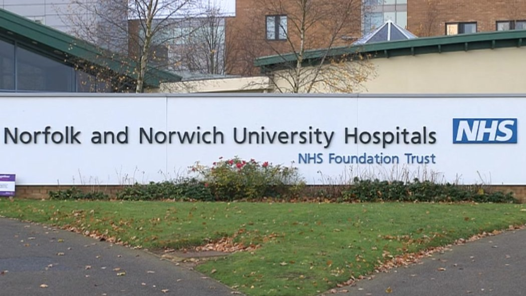 Norwich hospital begging to patients for donations, MP says