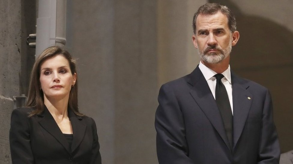 Barcelona attack: Royals attend special Mass for victims