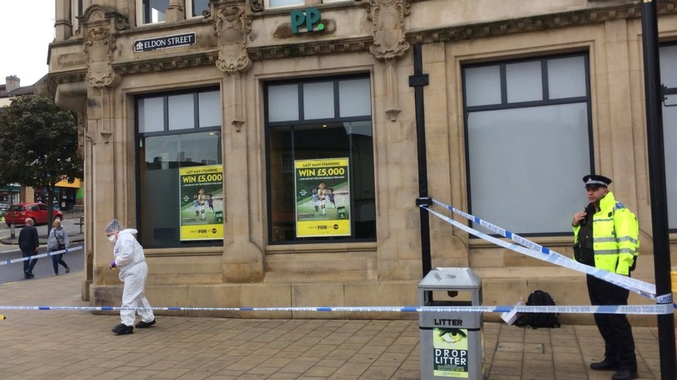 Barnsley stabbing: Woman arrested after man attacked in town centre