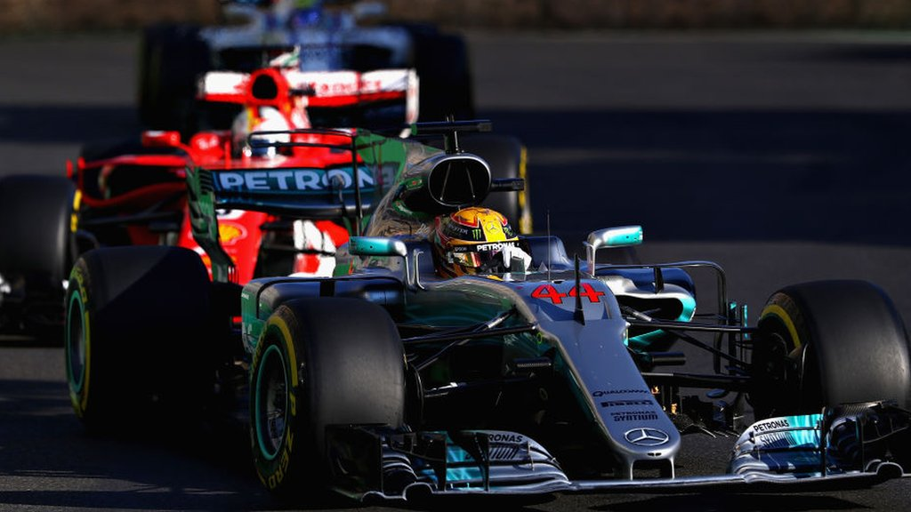Furious Vettel hits Hamilton under safety car as Ricciardo wins thriller