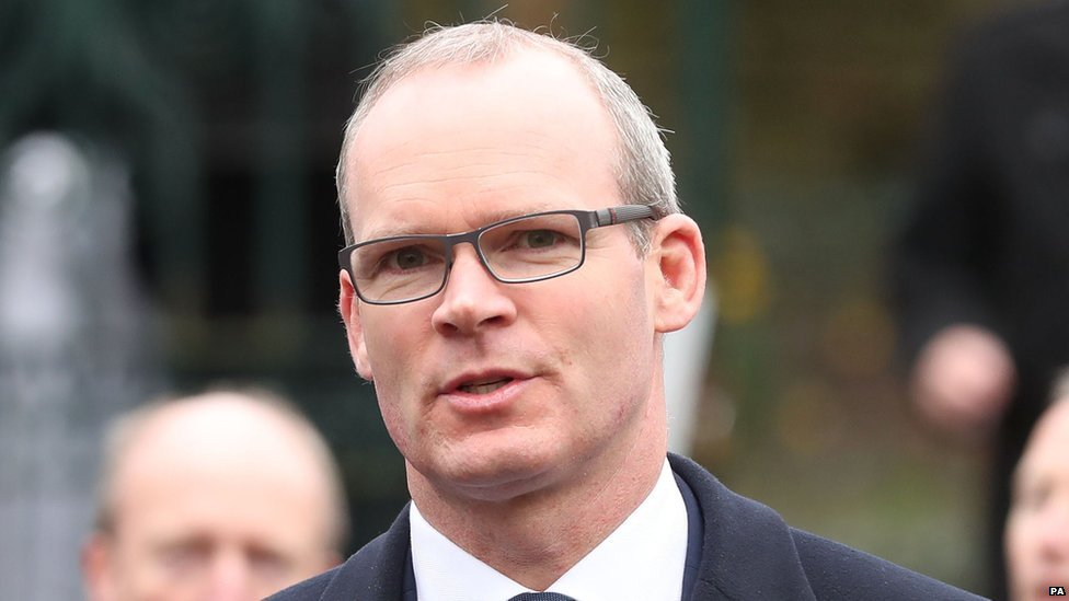 Brexit: Anti-backstop arguments 'farcical' says Coveney
