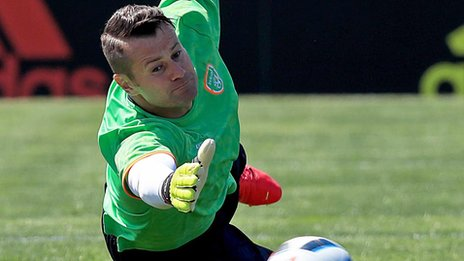 Shay Given: Stoke release former Republic of Ireland goalkeeper