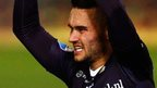 Ross County sign striker Schalk