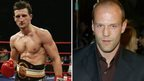 Jason Statham and Carl Froch