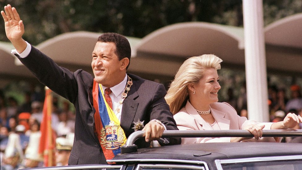 Hugo Chávez. Foto: Bertrand Parres/AFP/Getty Images.