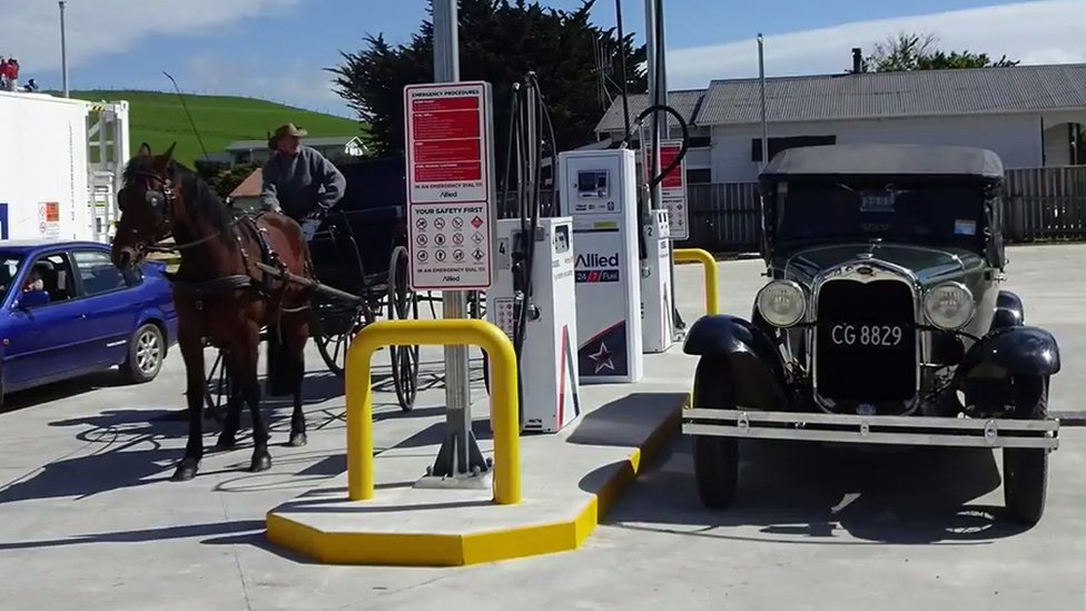 New Zealand town funds its own petrol station