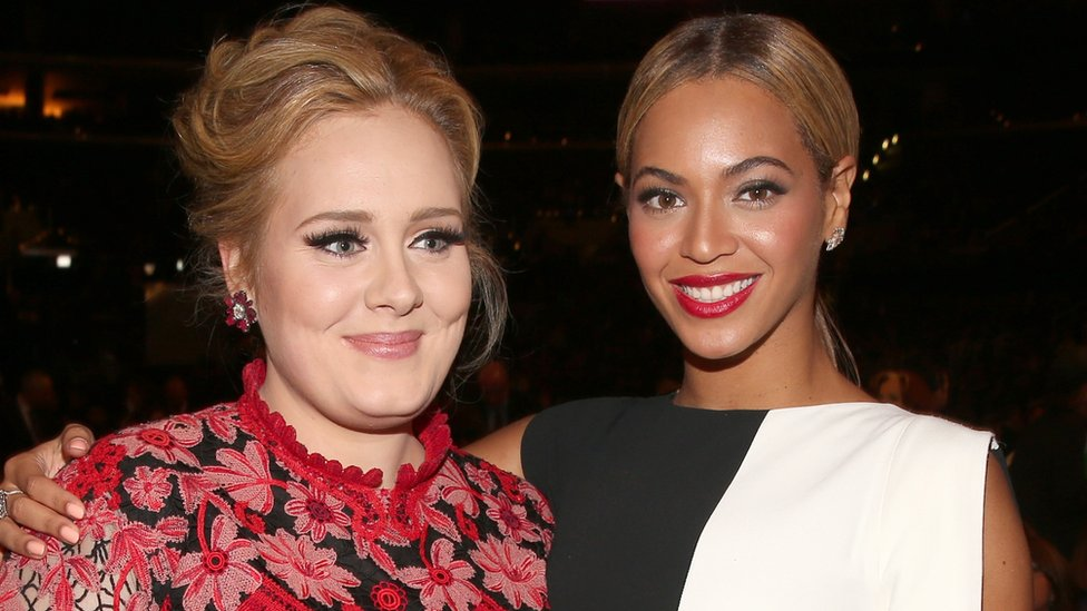 Adele y Beyoncé