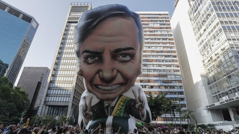 Bolsonaro: Brazil politician's health 'improving' after stabbing